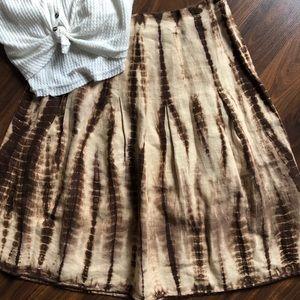 Michael Kors linen skirt Size 8